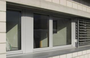 Fenêtre en bois-métal avec alu thermolaqué