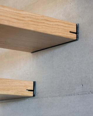 Marches d'escalier. Projet en collaboration avec la société Voumard et Mercier, architectes associés Sàrl