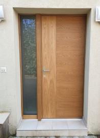 Porte plaquée chêne